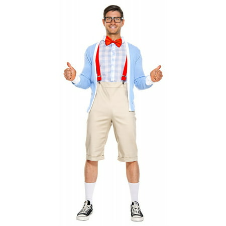 Adult Nerd Costumes (Nifty Nerd Adult Costume -)
