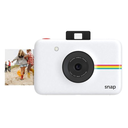 Polaroid Snap Instant Digital Camera (White) with Zink Zero Ink Printing (Best Polaroid Camera Of All Time)