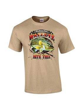 c501acaae Sold & shipped by Image Apparel. Free shipping. Product Image Fishing T- shirt Walleye Bite This