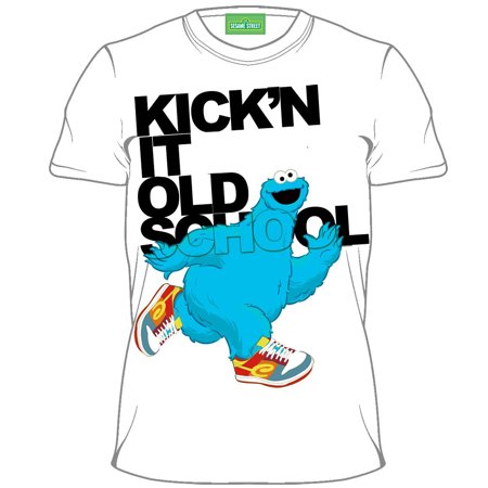 Sesame Street Cookie Monster Kickin It Youth T-Shirt