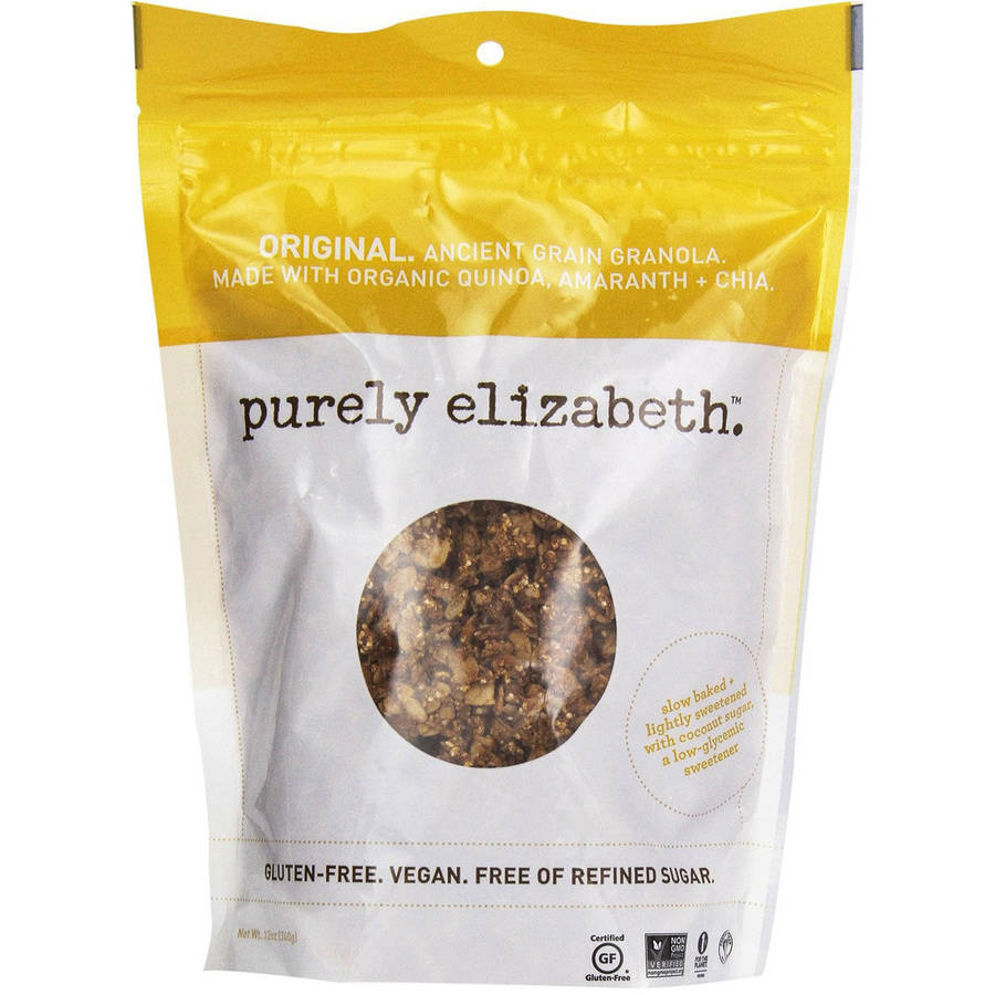 Purely Elizabeth Original Ancient Grain Granola, 12 oz, (Pack of 6)