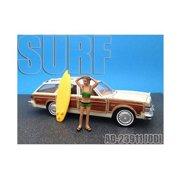 American Diorama 23911 Surfer Jodi Figure for 1-24 Diecast Model Cars