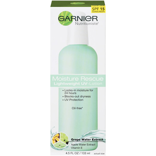 Garnier Nutritioniste Moisture Rescue Lightweight UV Lotion, 4.5 oz