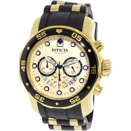 Men's 17566 Pro Diver Analog Display Swiss Quartz Black