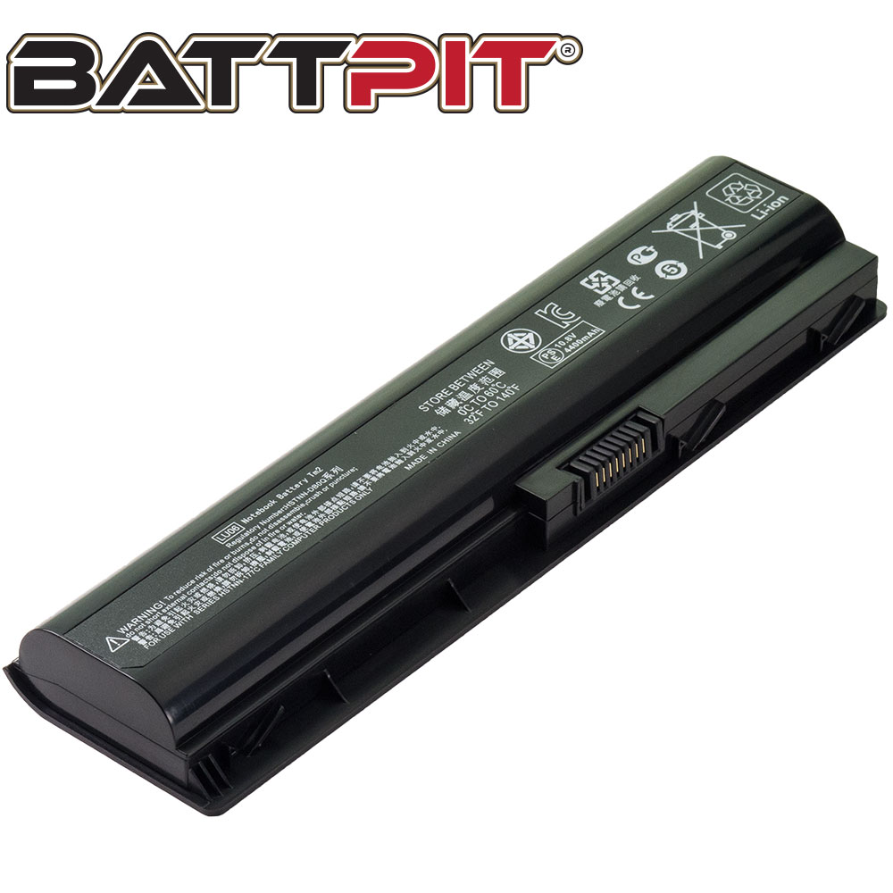 BattPit: Laptop Battery Replacement for HP TouchSmart tm2-1070us 582215-221 586021-001 HSTNN-I77C HSTNN-XB0Q WD547AAABB