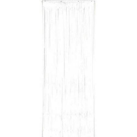 White Plastic Door Curtain - Plastic Door Curtain