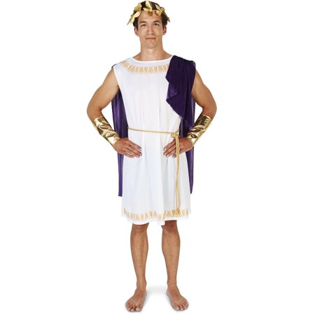 Boys Toga (White Toga (Short) Man Adult Costume)