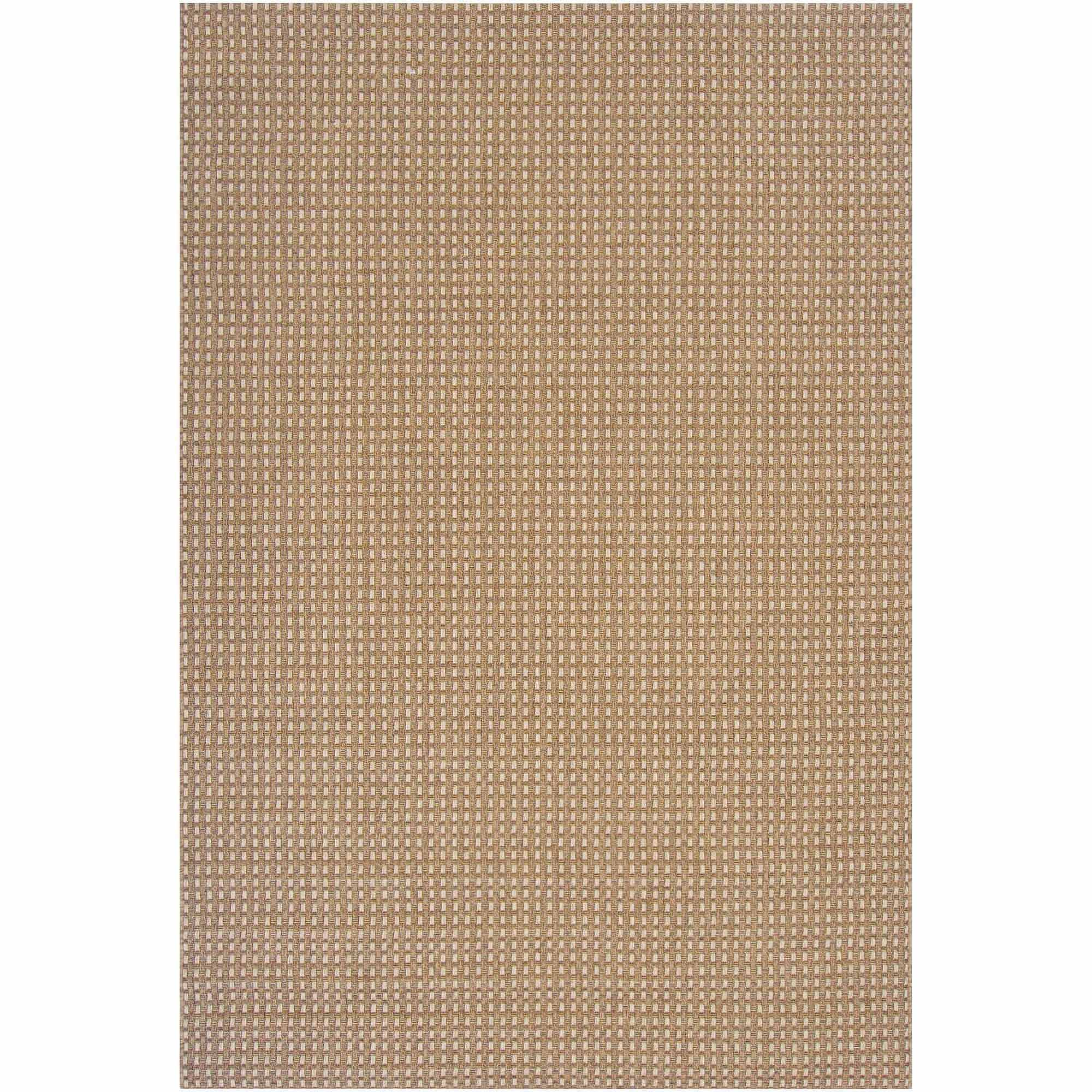 Art of Knot Newport Machine Made Basket-Weave Indoor/Outdoor Area Rug, Beige