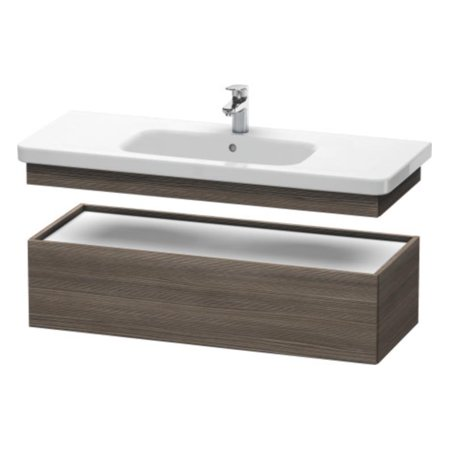 Duravit Ds628305151 Durastyle 44 1 2 Wall Mount Low Cabinet Single Bathroom Vanity With