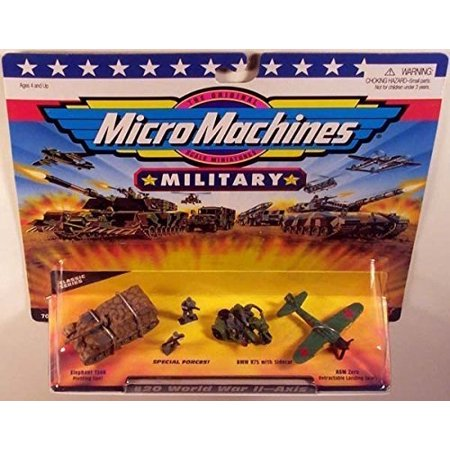 - Micro Machines Military Classic Series #20 World War II - Axis
