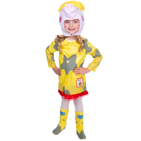 Peppa's Halloween (Peppa Pig Muddy Raincoat Costume for)