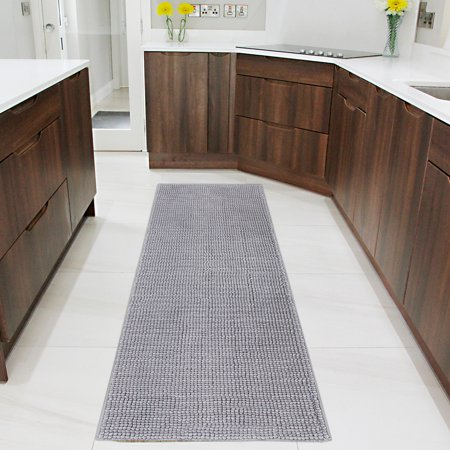 Lifewit Bath Runner Rug Chenille Area Mat Rugs for Bathroom Kitchen Entryway Bedroom Machine Washable Water Absorbent, 70