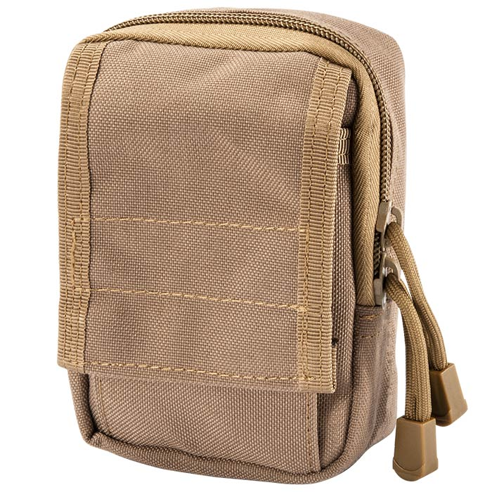 Loaded Gear Tactical Molle EDC Military Pouch (Brown)