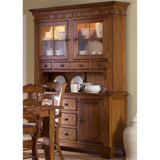 Liberty Furniture Industries Treasures Dining Buffet With Optional Hutch