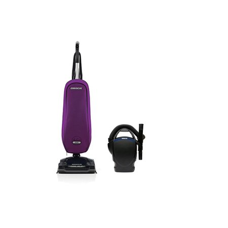 - Oreck Axis Upright Lightweight Vacuum Cleaner - Purple Power Bundle with Oreck CC1600 Handheld Vac