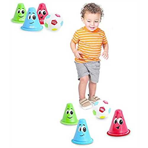 Little Tikes - SOFT SSOCCER SET - Great for Teaching Your Child the Sport of Soccer.