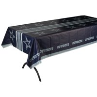 Dallas Cowboys Plastic Table Cover - No Size