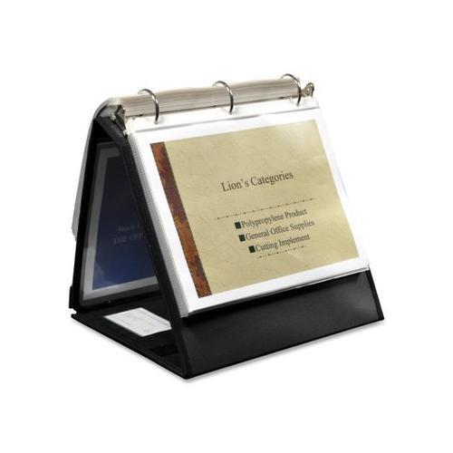 Lion Insta-Cover Ring Easel Binder LIO40009BK