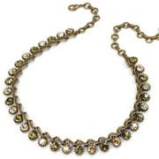 Sweet Romance Necklace Blue Opal