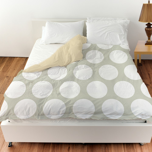 Manual Woodworkers & Weavers Amina Polka Dot Duvet Cover