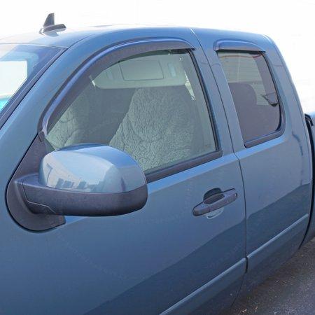 Window Visor Wind Deflector for 07 08 09 10 11 CHEVY SILVERADO EXTENDED EXT  CAB For 2007 2008 2009 2010 2011 07-12 Chevr - Walmart.com 14e13012bc5