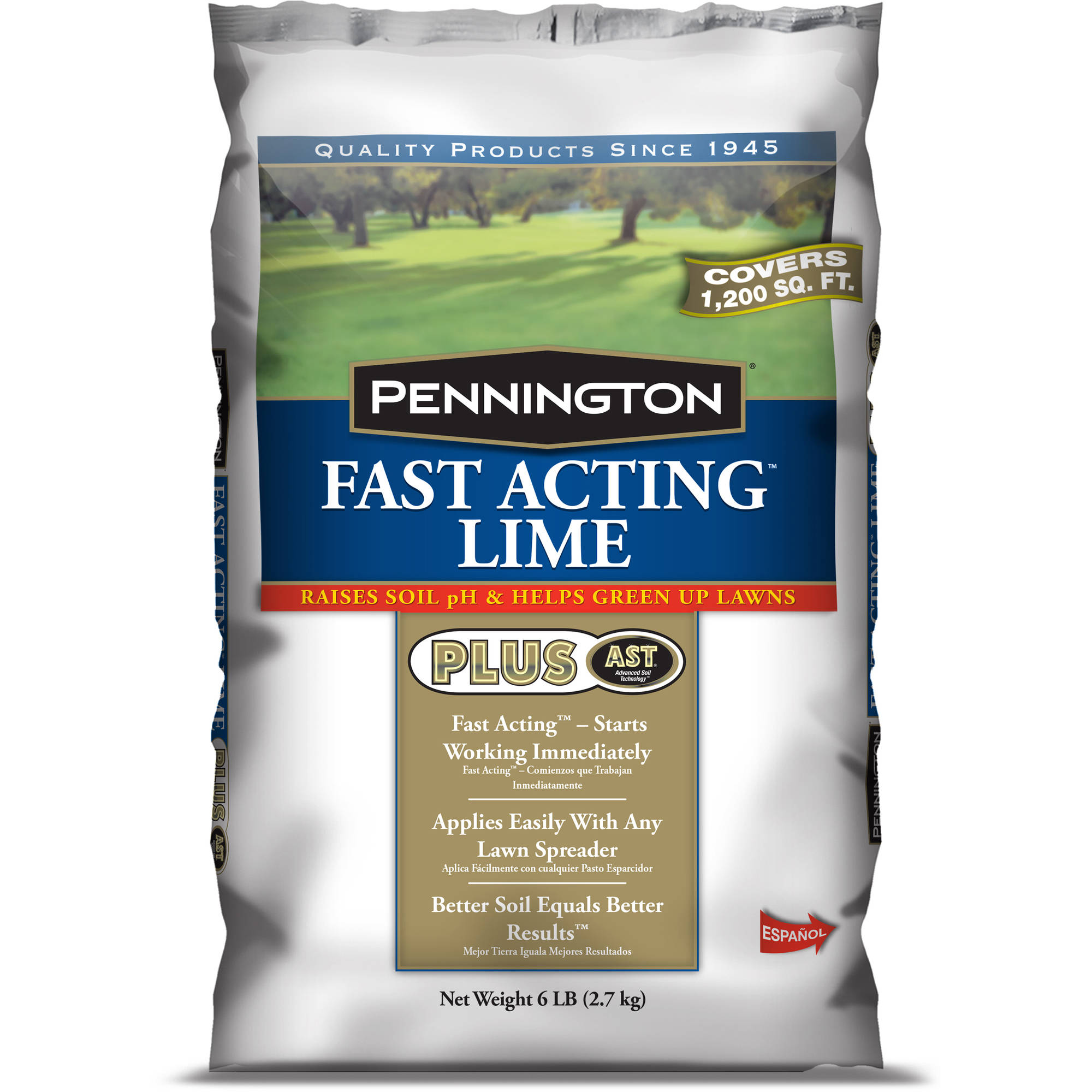 Pennington Fast Acting Lime Plus AST Soil Conditioner, 30 lbs