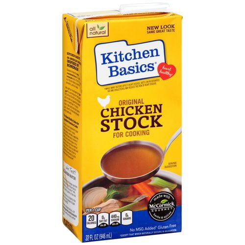 Kitchen Basics Original Chicken Stock for Cooking, 32 fl oz