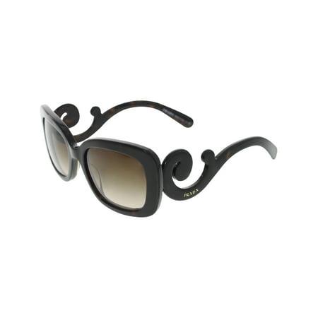 Prada Women's Gradient PR27OS-2AU6S1-54 Tortoiseshell Rectangle (6s1 Prada Sunglasses)