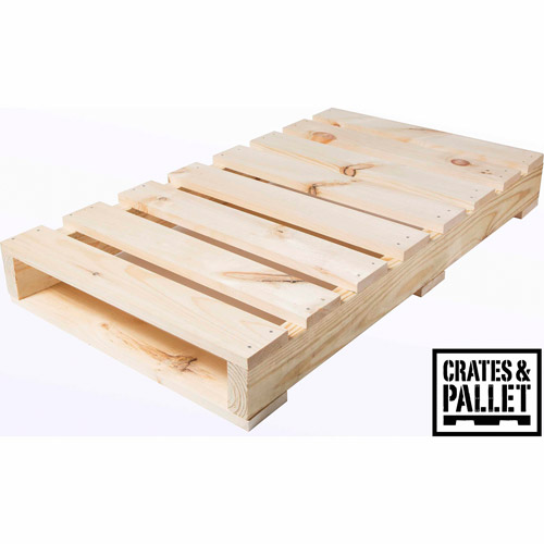 Crates and Pallet Half Pallet, New Wood