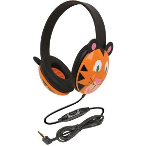 Califone, Listening First Stereo Headphones, Tiger (Califone Audio)