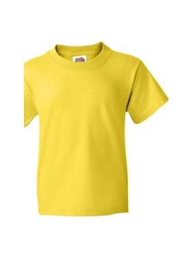 Fruit of the Loom T-Shirts HD Cotton Youth Short Sleeve T-Shirt