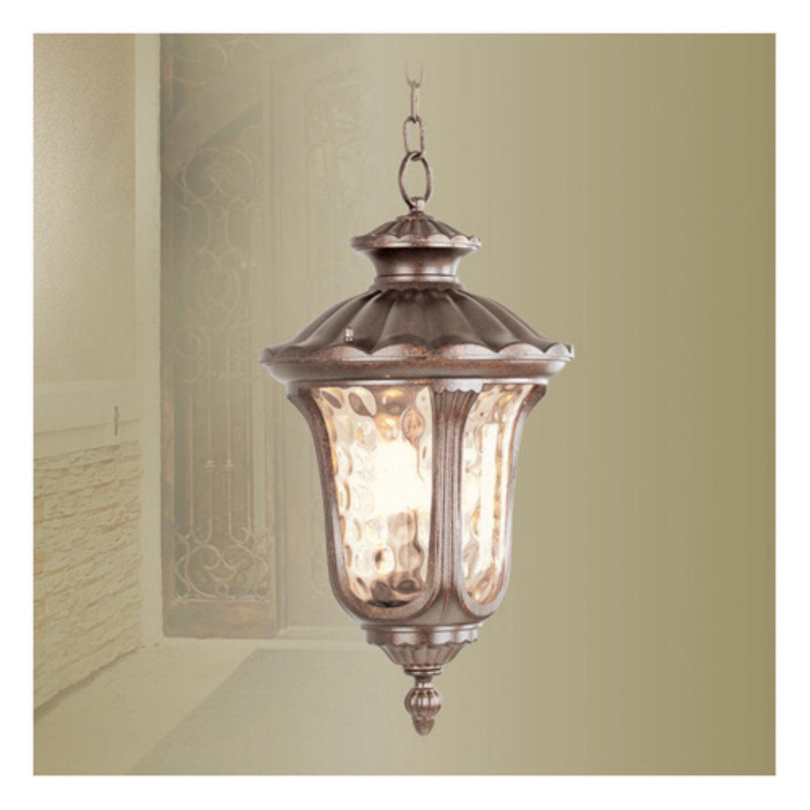 Livex Lighting Oxford 3 Light Chain Lantern