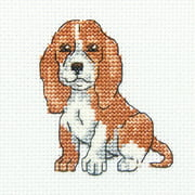 "Long Eared Buddy Counted Cross Stitch Kit-3.5""X3.5"" 14 Count"