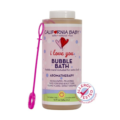 California Baby I Love You Bubble Bath, 13 fl oz