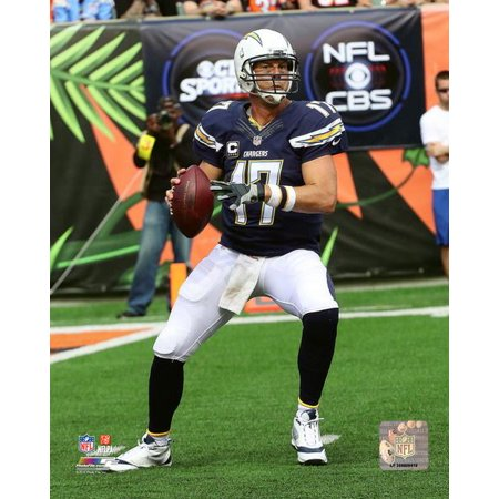 Philip Rivers 2015 Action Photo Print