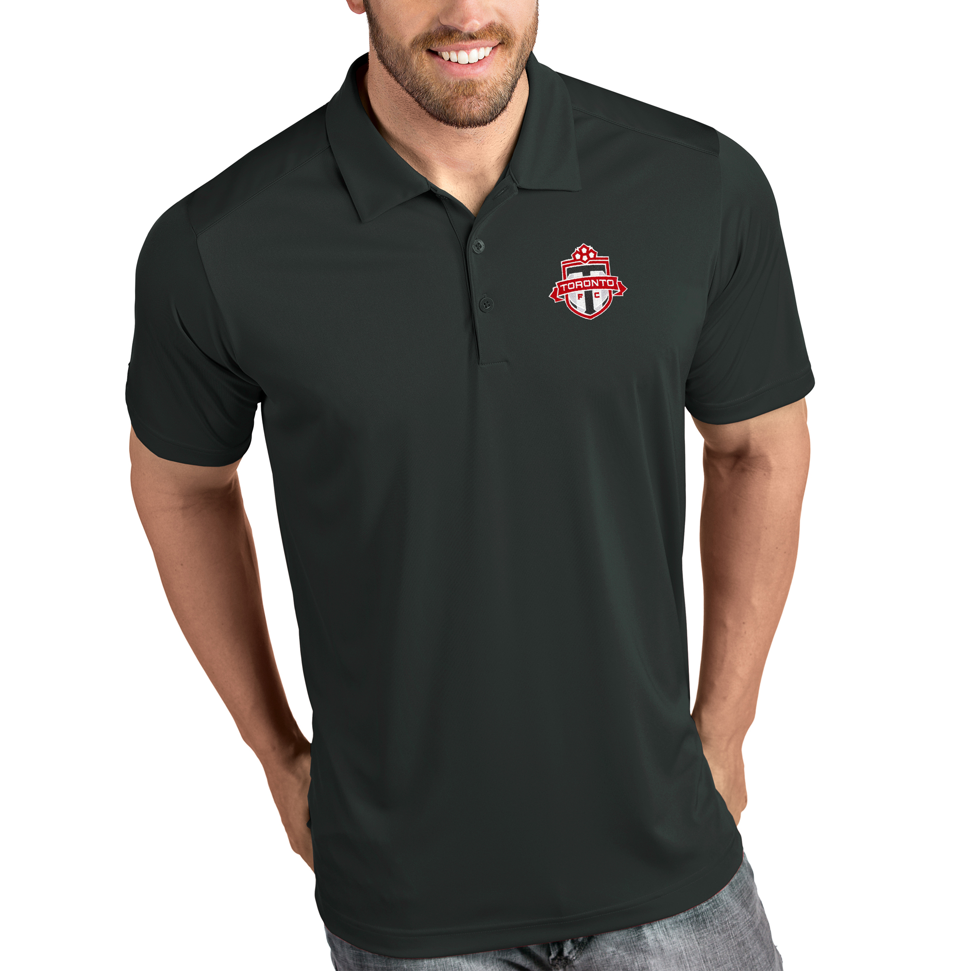 Toronto FC Antigua Tribute Polo - Heather Gray
