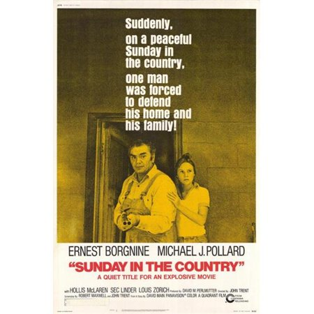 Posterazzi MOVIF2440 Sunday in the Country Movie Poster - 27 x 40 in. - image 1 of 1