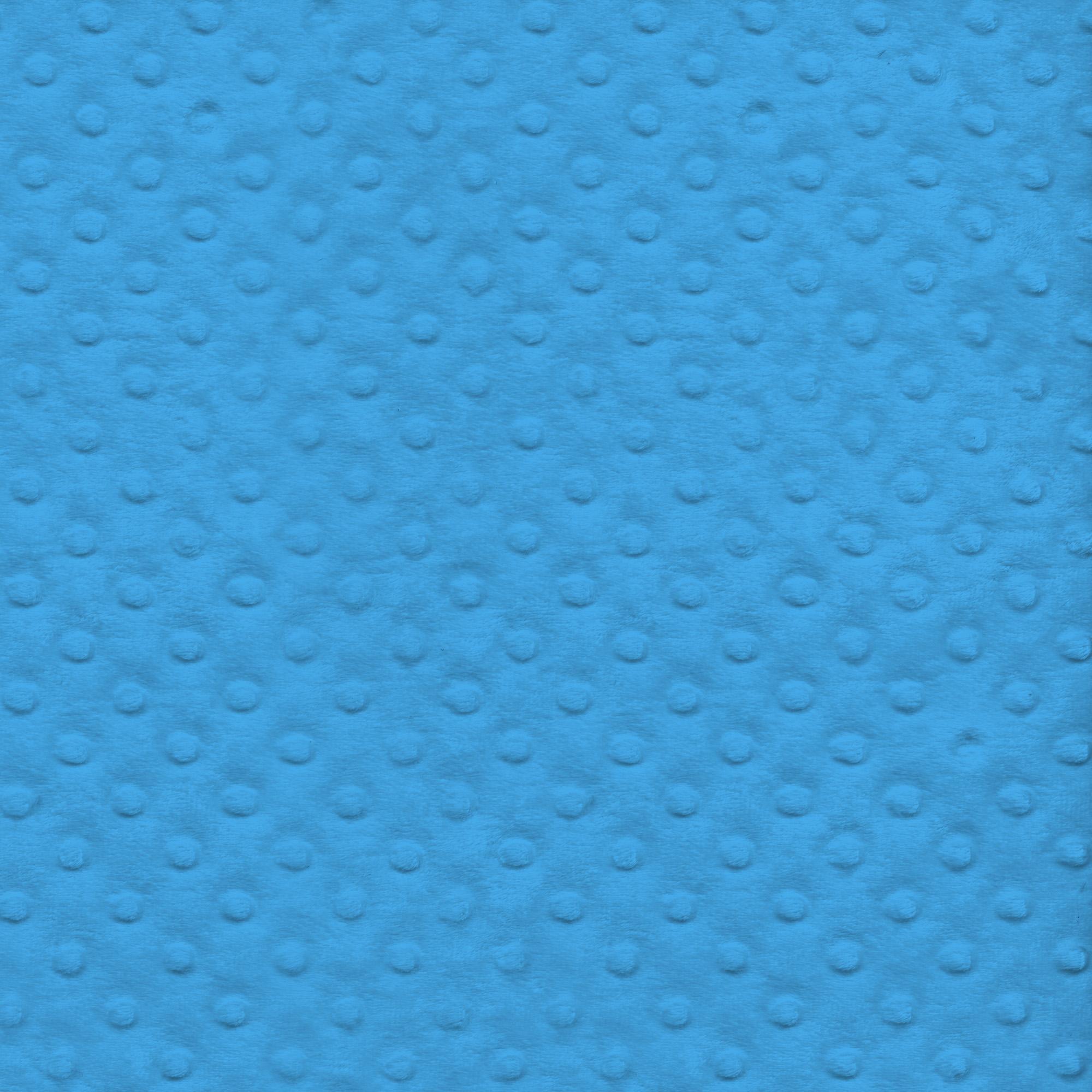 "David Textiles Plush Dot Polyester Fleece, 60"" Fabric By The Yard"