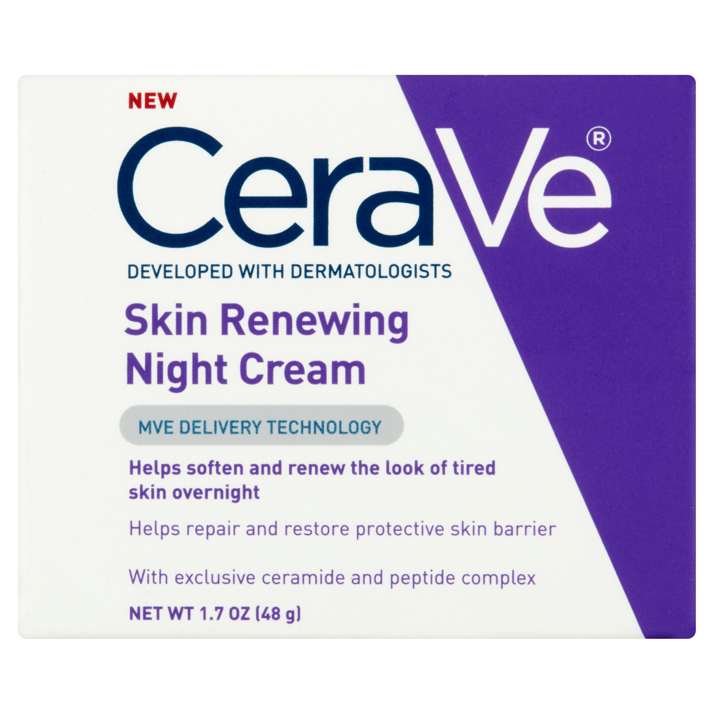 CeraVe Skin ReNewing Night Cream, 1.7 oz by Valeant Pharmaceuticals North America LLC