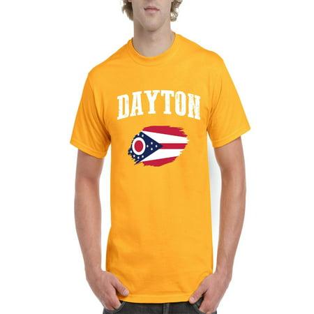 Dayton Ohio Men Shirts T-Shirt (The Green Dayton Ohio)