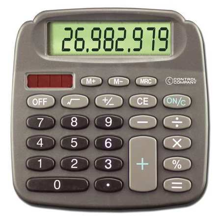 "4-1/2"" Pocket Calculator, Control Company, 6031"