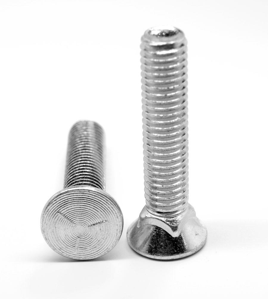 PK220 Gr 5 7//16-14x2 Plow Bolt Zinc