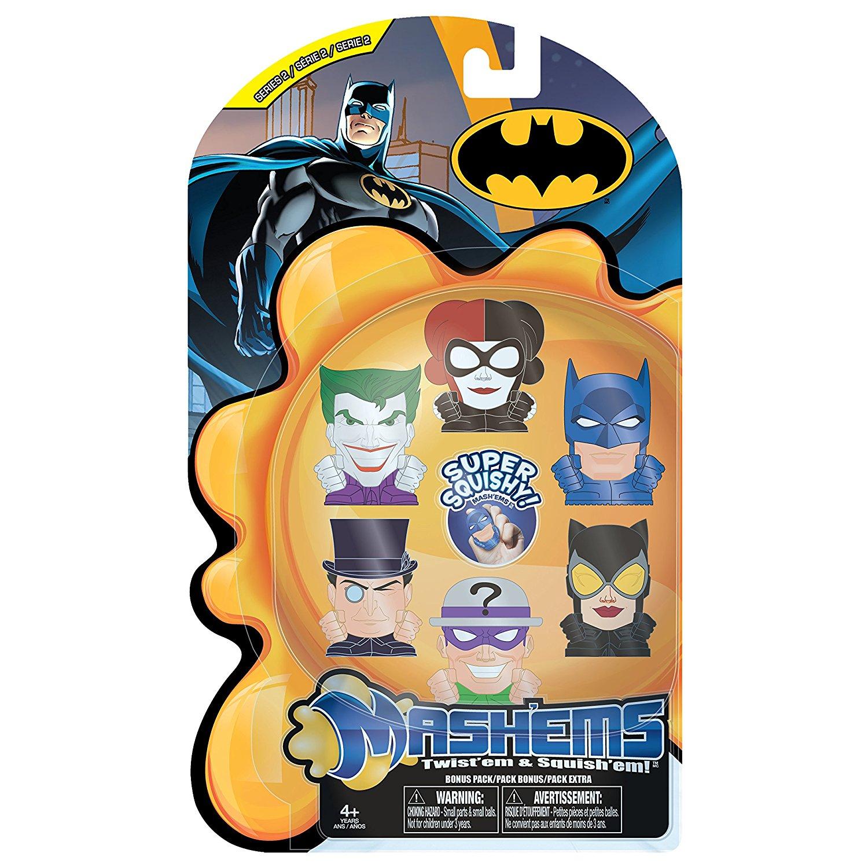 Mash'ems Batman Value Pack Action Figure, Each Black Weap...