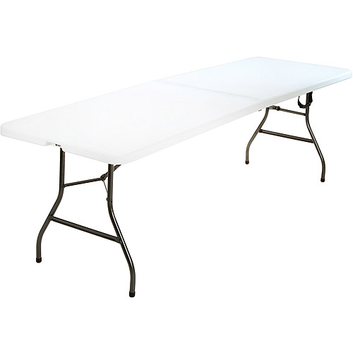 Mainstays 8' Centerfold Table, White