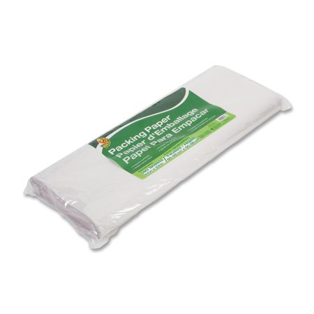 Duck Packing Paper and Void Fill, 24 in. x 24 in., White, 120-Count