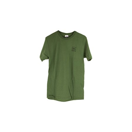 Glock Short Sleeve Repelling Logo Shirt, OD Green, (Od Green Glock 19 Gen 4 For Sale)