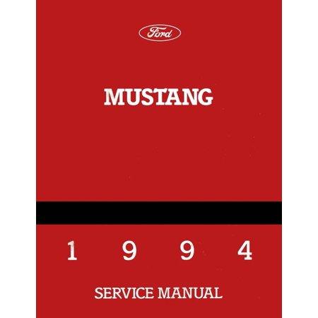 Bishko OEM Repair Maintenance Shop Manual Bound for Ford Mustang