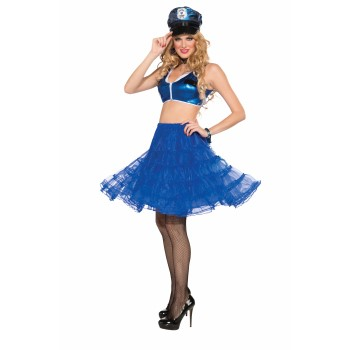 UNDERSKIRT-ROYAL BLUE