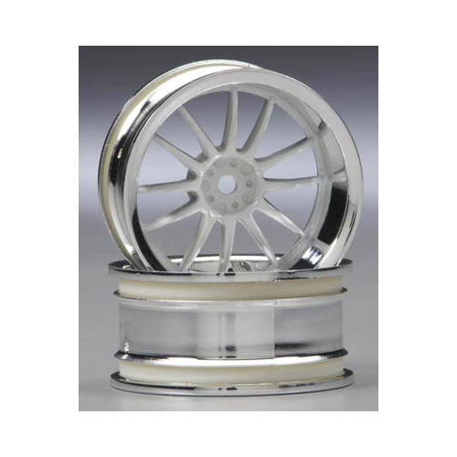 3285 Work XSA Wheel 26mm Chrm/Wht 9mm Offset Multi-Colored