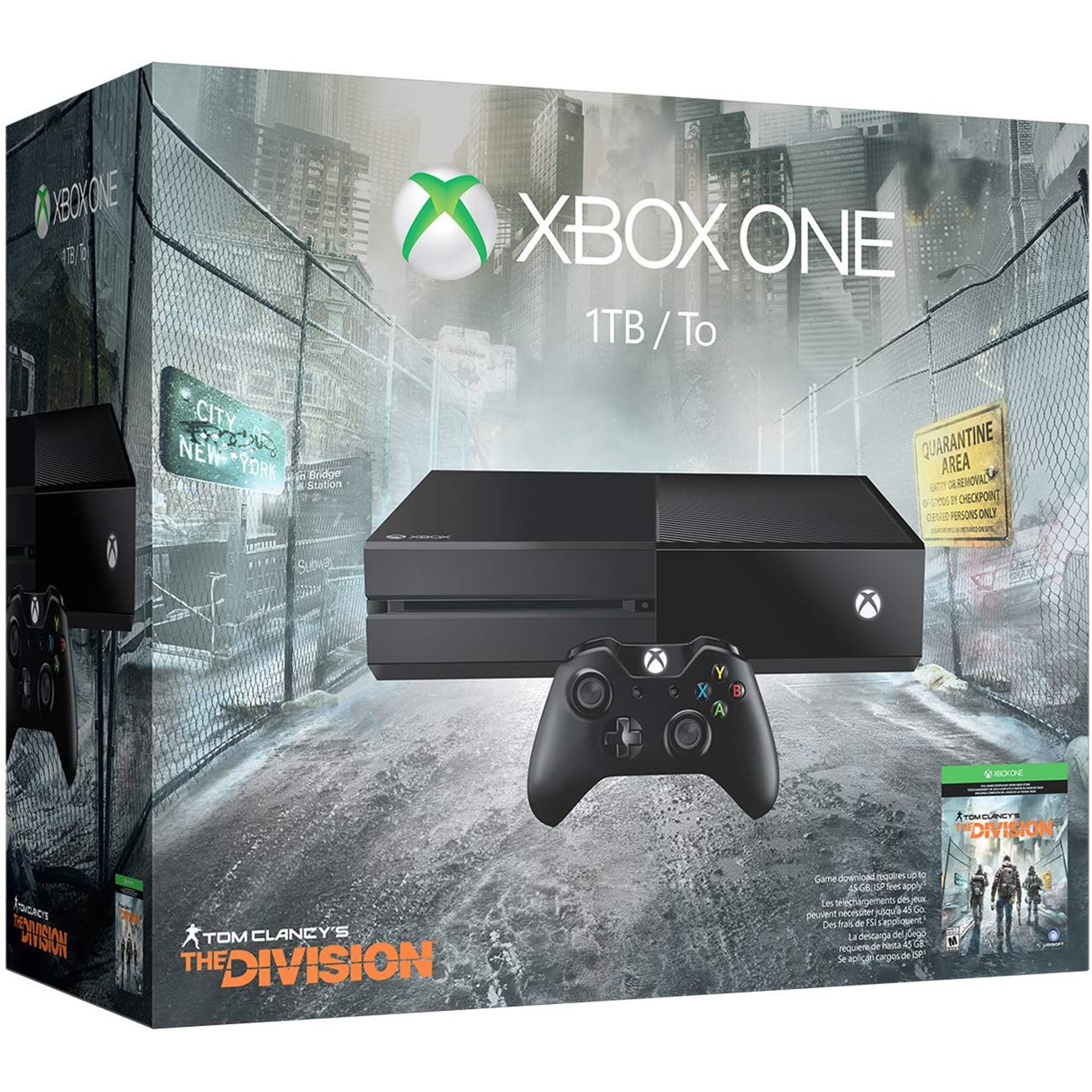 Microsoft Xbox One 1TB Console - Tom Clancy's The Division